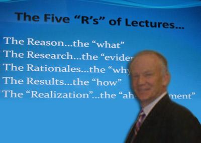 Dr. Alan Bagden beim Münchener Damon Expertentreffen